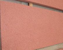 各类红砂岩荔枝面石材加工订制
